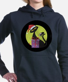 cat_ Original copy.png Women's Hooded Sweatshirt