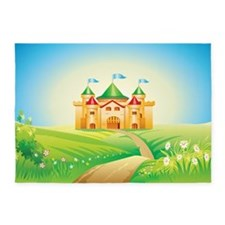 Enchanted Castle 5'x7'Area Rug