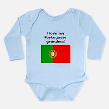 I Love My Portuguese Grandma Body Suit