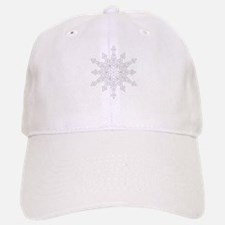 Snowflake Baseball Baseball Cap