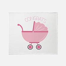 Congrats Throw Blanket