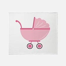 Baby Stroller Throw Blanket