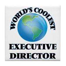 Executive Director Tile Coaster