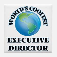 Executive Director Tile Coaster