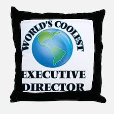Executive Director Throw Pillow