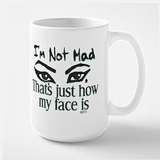 Resting Angry Face Mug