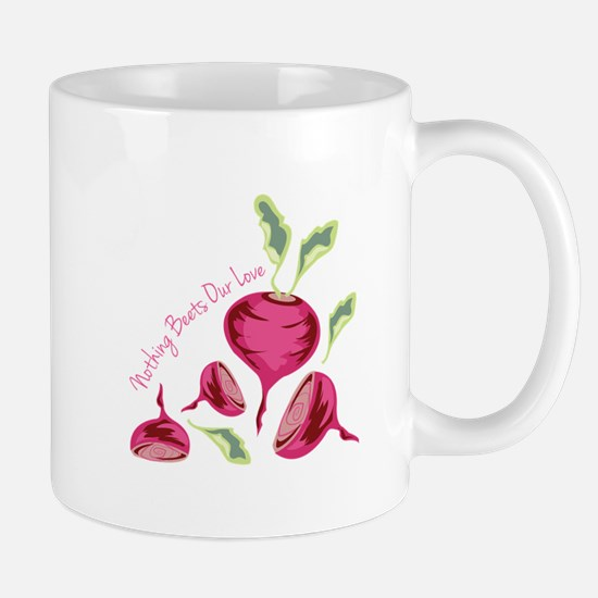 Beets Our Love Mugs