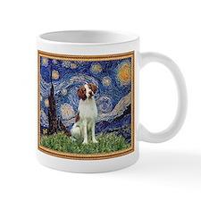 Starry Night & Brittany Spaniel Mug