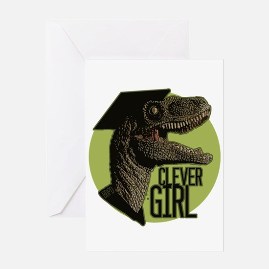 Clever Girl Greeting Cards