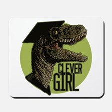 Clever Girl Mousepad