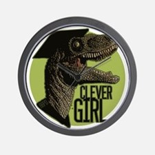 Clever Girl Wall Clock