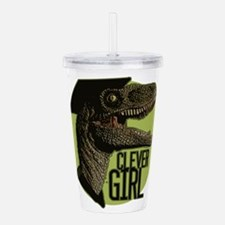 Clever Girl Acrylic Double-wall Tumbler