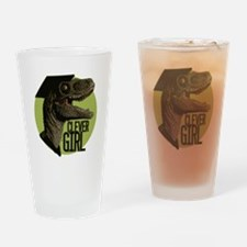 Clever Girl Drinking Glass