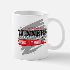 Winners and Losers Softball Mug