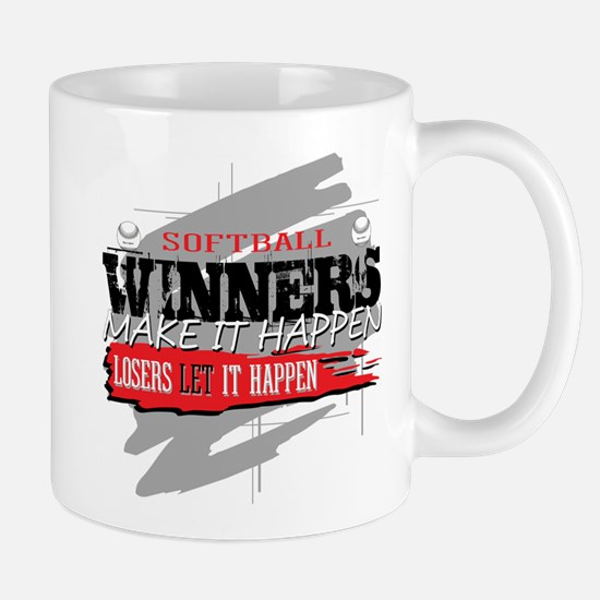 Winners and Losers Softball Mug