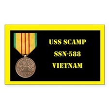 USS Scamp Decal