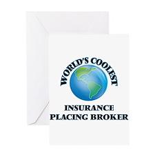 Insurance Placing Broker Greeting Cards