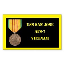 USS San Jose Decal