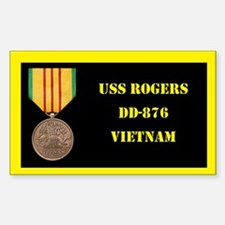 USS Rogers Decal