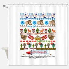 EveryHoliday Shower Curtain