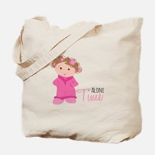 Alone Time Tote Bag