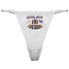 Fat Tuesday Classic Thong