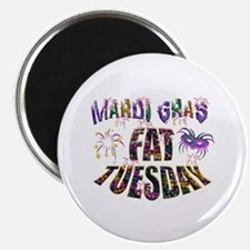 Fat Tuesday Magnets