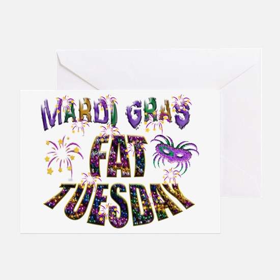 Fat Tuesday Greeting Cards