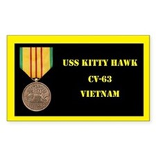 USS Kitty Hawk Decal