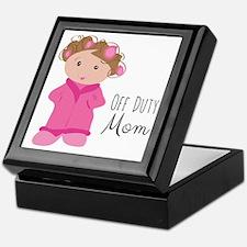 Off Duty Mom Keepsake Box