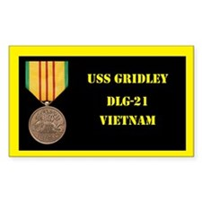 USS Gridley Decal