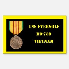USS Eversole Decal