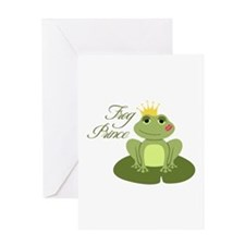 The Frog Prince Greeting Cards