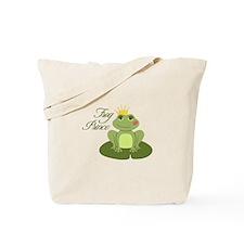 The Frog Prince Tote Bag