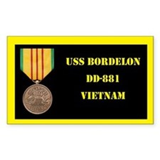 USS Bordelon Decal