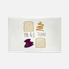 Pb & J Time Magnets