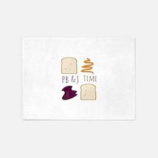 Pb & J Time 5'x7'Area Rug