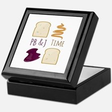 Pb & J Time Keepsake Box