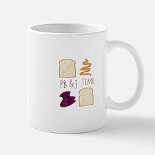 Pb & J Time Mugs