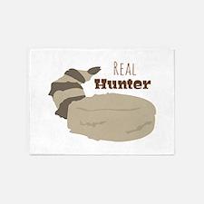 Real Hunter 5'x7'Area Rug