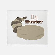 Real Hunter Throw Blanket