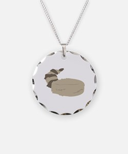 Coon Skin Cap Necklace