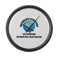 Outdoor Pursuits Manager Large Wall Clock