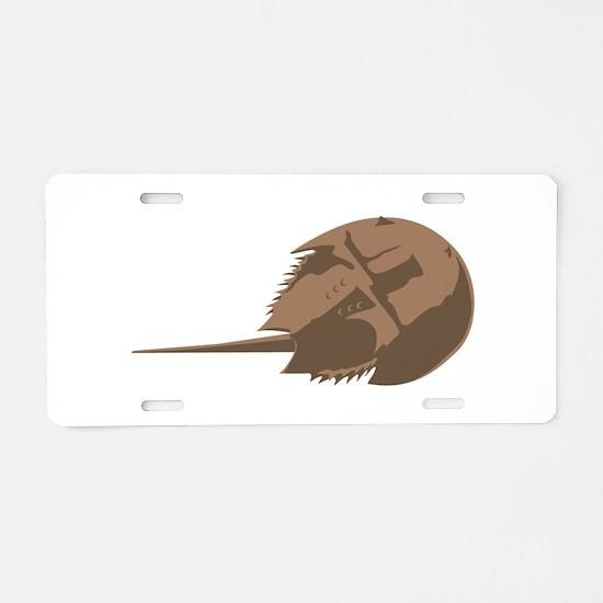 Horseshoe Crab Aluminum License Plate