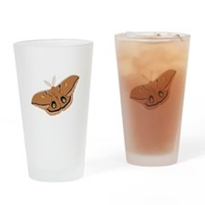 Polyphemus Silk Moth Drinking Glass