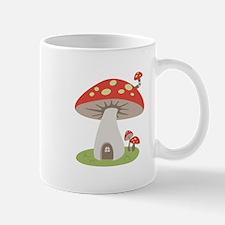 Mushroom House Mugs