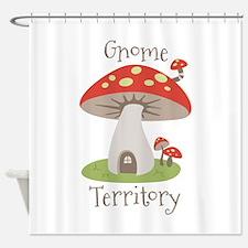 Gnome Territory Shower Curtain