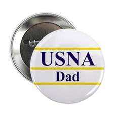 "USNA Dad 2.25"" Button (10 pack)"