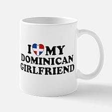 I Love My Dominican Girlfriend Mug
