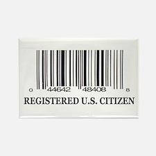 REGISTERED U.S. CITIZEN Rectangle Magnet (10 pack)
